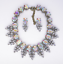 Women-Fashion-Bib-Choker-Chunk-Crystal-Statement-Necklace-Wedding-Jewelry-Set thumbnail 64