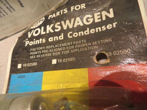 VW VOLKSWAGEN FASTBACK SQUAREBACK bug 68 up POINTS /& CONDENSER EMPI # 19-02590