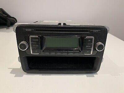 GENUINE VW TRANSPORTER T5 RCD210 RCD 210 CD RADIO STEREO HEAD UNIT