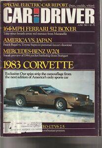 Car-and-Driver-JUNE-1981-FERRARI-1983-CORVETTE-NEVER-MADE-much-more
