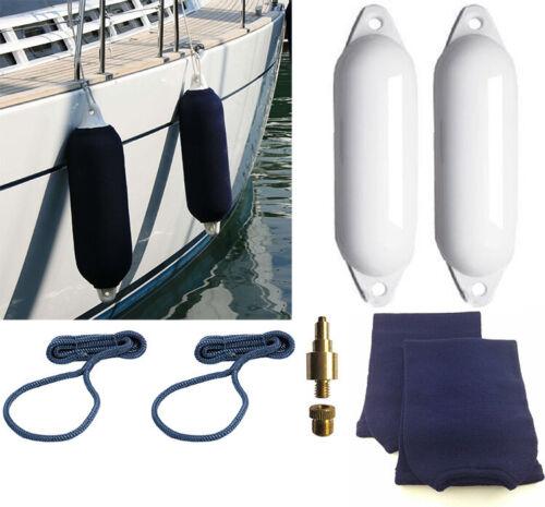 2 x Majoni Star Boat Fender Size 1 Kit Rope Sock Adaptor Sailing Boating Yacht