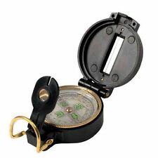 Military Lensatic Prismatic Sighting Highlander Compass Backpacking Hiking