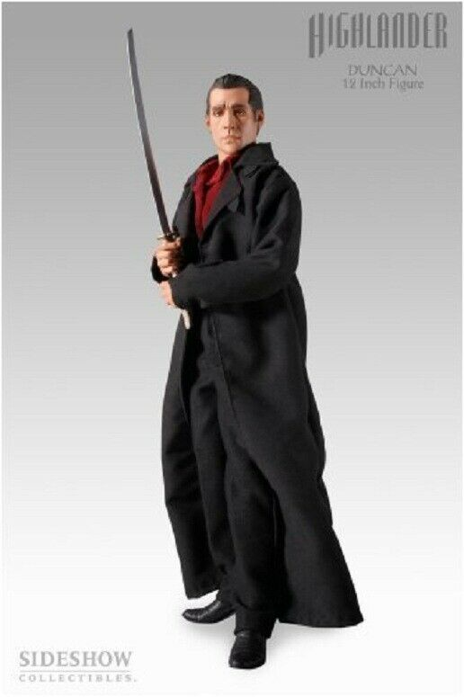 Sideshow Collectibles Highlander 12 12 12 Inch Action Figure Duncan MacLeod statue 1 6 5714c4