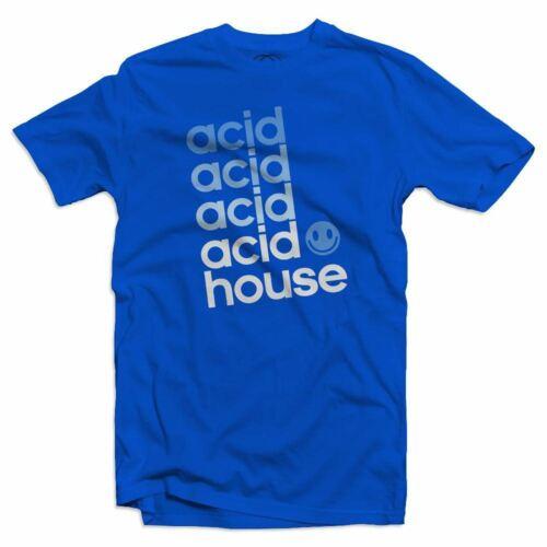 Acid Spezial EDM Dance Music Rave DJ Mens Acid House T-Shirt