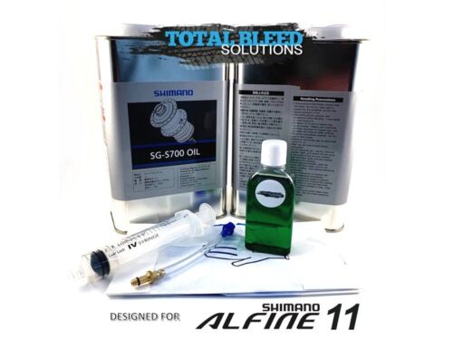 Bleed Kit for Shimano Alfine 11 speed Hub * TBS Service SG-S700 Oil Option