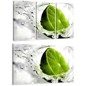 Prudent Toile Imprimé Sur Cadre Differents Mesures Marque Visario ® Lime Citron Fr1 1514 Pour Classer En Premier Parmi Les Produits Similaires
