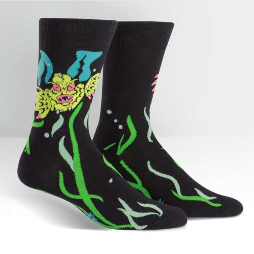 Creature from the Shoe Sock It To Me Men/'s Crew Socks