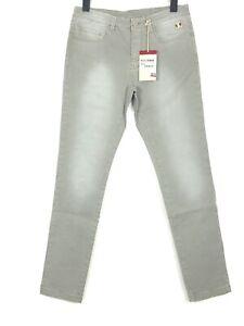 DOLOMITE Herren Jeans Hose Stretch Slim Gerades Bein Komfort 50 W33 L34 Grau Neu