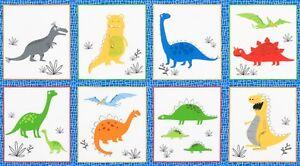 Fabric-Baby-Dinosaur-on-Cotton-Panel-24-034-x42-034