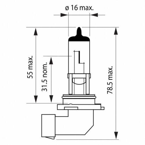 2x H10 OSRAM Original Line OEM 9145RP00268420 Halogenlampe Autolampe Set
