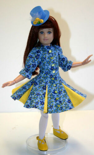 "Flirty Dress Doll Clothes Sewing Pattern for 12/"" Senson Dolls"