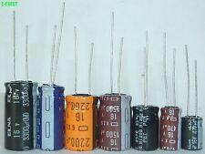 200 QTY 1000uf 10V 105/' LOW IMPEDANCE  ELECTROLYTIC LXF10VB102M10X20LL NCC