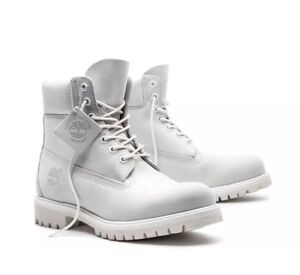 SZ-9-MEN-039-S-TIMBERLAND-GHOST-WHITE-A1M6Q-LIMITED-RELEASE-6-INCH-BOOTS-DS-IN-BOX