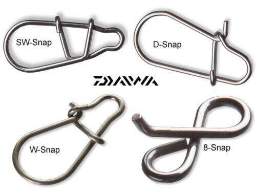 Daiwa Tournament Snap D-Snap SW-Snap 8-Snap W-Snap various models and sizes