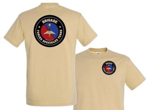 "T SHIRT /"" BRIGADE FORCES SPECIALES TERRE /"" sport TRAINING run TAP tshirt désert"