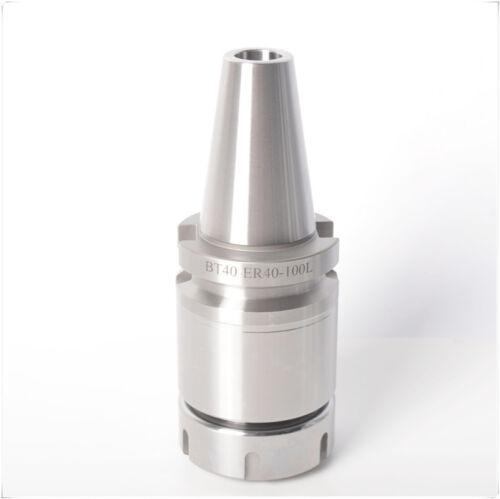 BT40 ER40 100 Collet Chuck CNC Milling Toolholder FOR ER collet ER40 CNC Shank