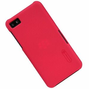 Nillkin-Super-Shield-Shell-Hard-Case-in-RED-for-Blackberry-Z10-with-Screen-Film