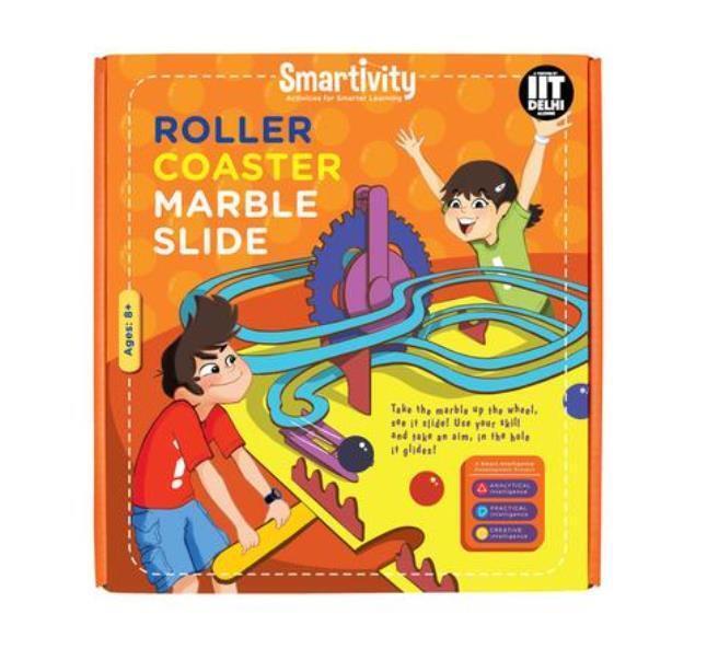 Age 8+ Science Kit DIY Smartivity Roller Coaster Marble Slide