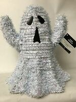 Halloween Tinsel Ghost 11 Inches Wire Frame Table Decoration