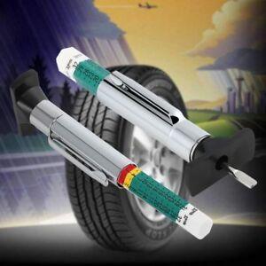 Neumatico-pisada-Probador-De-Profundidad-De-Colorido-medidas-estandar-metrico-Motor-Auto-Moto