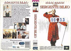 SERGENTE-BILKO-1996-vhs-ex-noleggio
