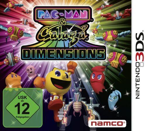 1 von 1 - Nintendo 3DS Spiel ***** Pac-Man & Galaga Dimensions ********************NEU*NEW