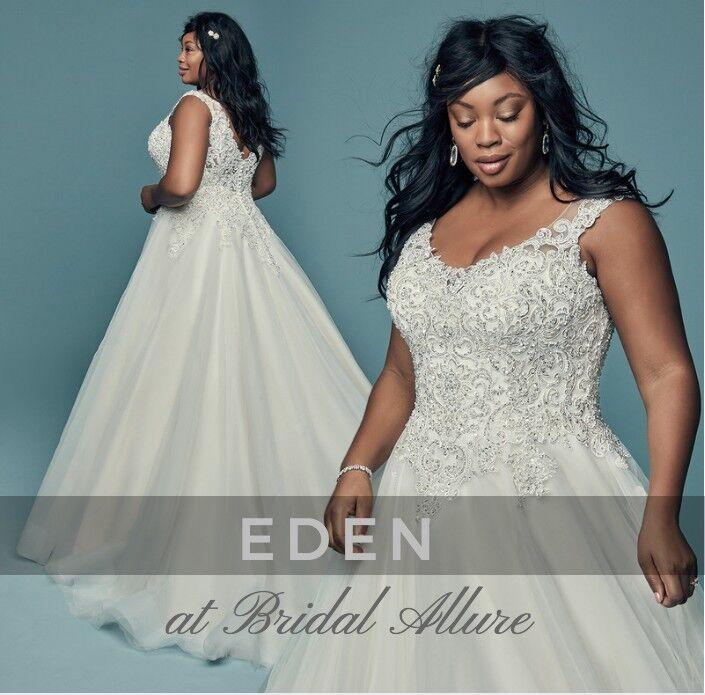7a95b3c42875 Wedding Dress Plus size by Maggie Sottero ( USA )