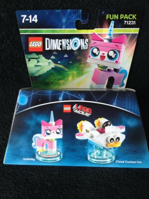 LEGO Dimensions 71231 Lego Movie Fun Pack - Unikitty - AUS stock new (#27)