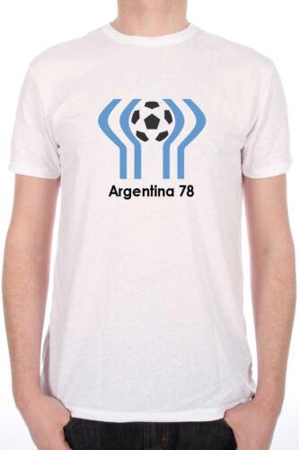 Argentina 78 Retro World Cup Football T-Shirt
