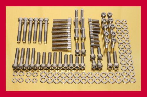R1200RT grosser Edelstahl Schraubensatz Motorschrauben 126 Teile BMW R 1200 RT