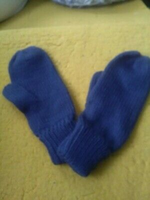 Attento Jules James Blu Mittens &-
