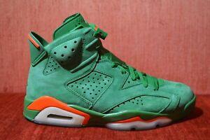 bac0b4b900d7 CLEAN Nike Air Jordan VI 6 Retro NRG Gatorade Green Size 8 AJ5986 ...