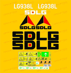 adhesive-sticker-Loader-sdlg-lg938l-compatible