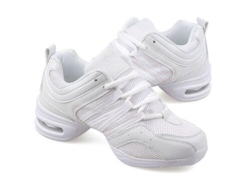 Women Lace Up Hip Hop Jazz Sneaker Dancewear Dance Sport Shoes 4 Colors