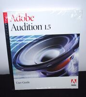 Adobe Audition 1.5 User Guide Sealed Book Manual Windows