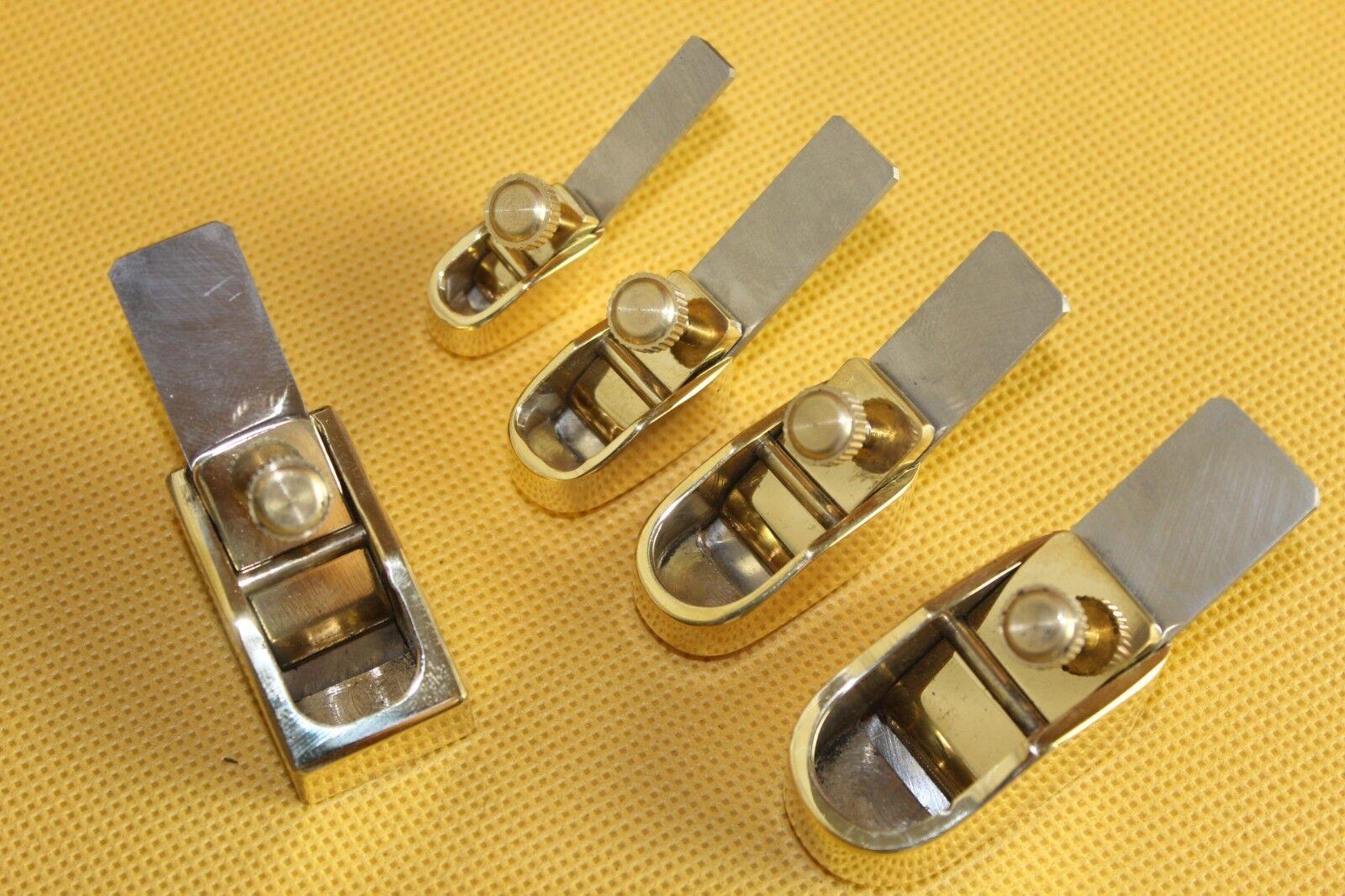 5 piezas various Talla Mini Mini Mini brass planes fine work, violin violonchelo Making Tools 3c35ad