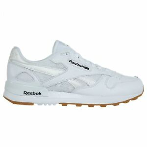 3a211afd765 Reebok Classic Leather 2.0 Mens BS9004 White Black Gum Athletic ...