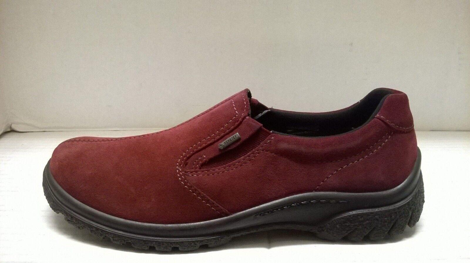 marchio famoso ARA donna PARSON WATERPROOF SUEDE SUEDE SUEDE W GORE-TEX SLIP-ON scarpe (49333)  sconto