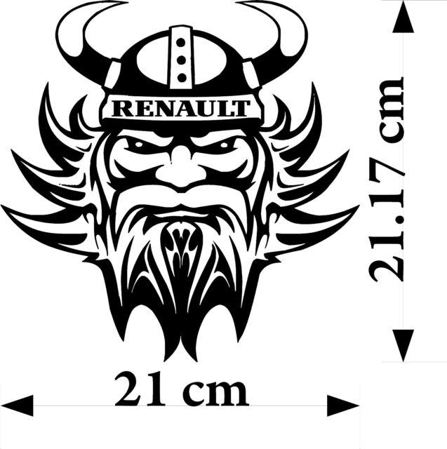Renault Viking Vinyl Decal Sticker Truck For Walls Glass Body Panels