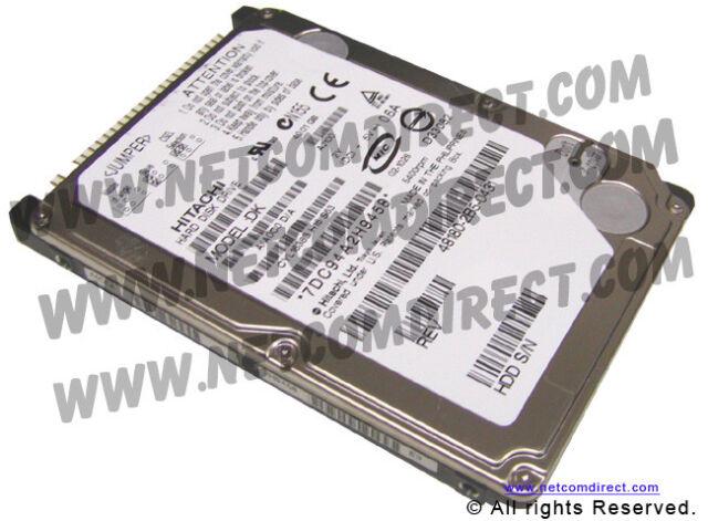 """Hitachi DK23DA-30F 30GB IDE 2.5"""" 9.5mm Notebook HDD - 05K804 / 5K804 / DK23DA30F"""
