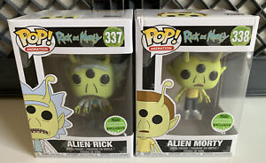 Funko Pop! Rick And Morty - Alien Rick And Alien Morty (Box Damage)