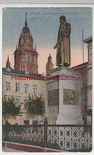 (96138) AK Mainz, Gutenberg Denkmal, Dom 1919