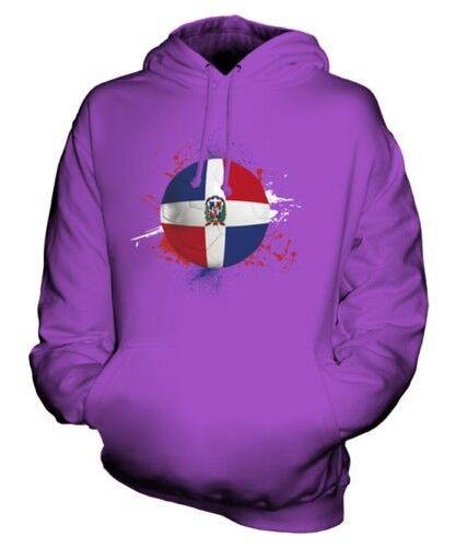 République Dominicaine Football Sweat à Capuche Unisexe Haut Cadeau