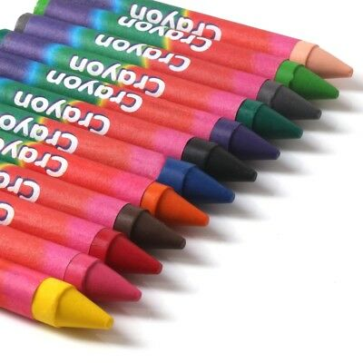 24x Kids Colouring Wax Crayons Party Bag Fillers for Children Artist Drawing