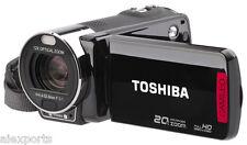 Toshiba Camileo P30 1080p Alta Definición Videocámara Sensor CMOS de 2.5 pulgadas 5MP