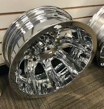 05 19 Ford F 350 Sd Ultra Afterburner Dualie Chrome Plated 8 Lug 17 Rear Wheel