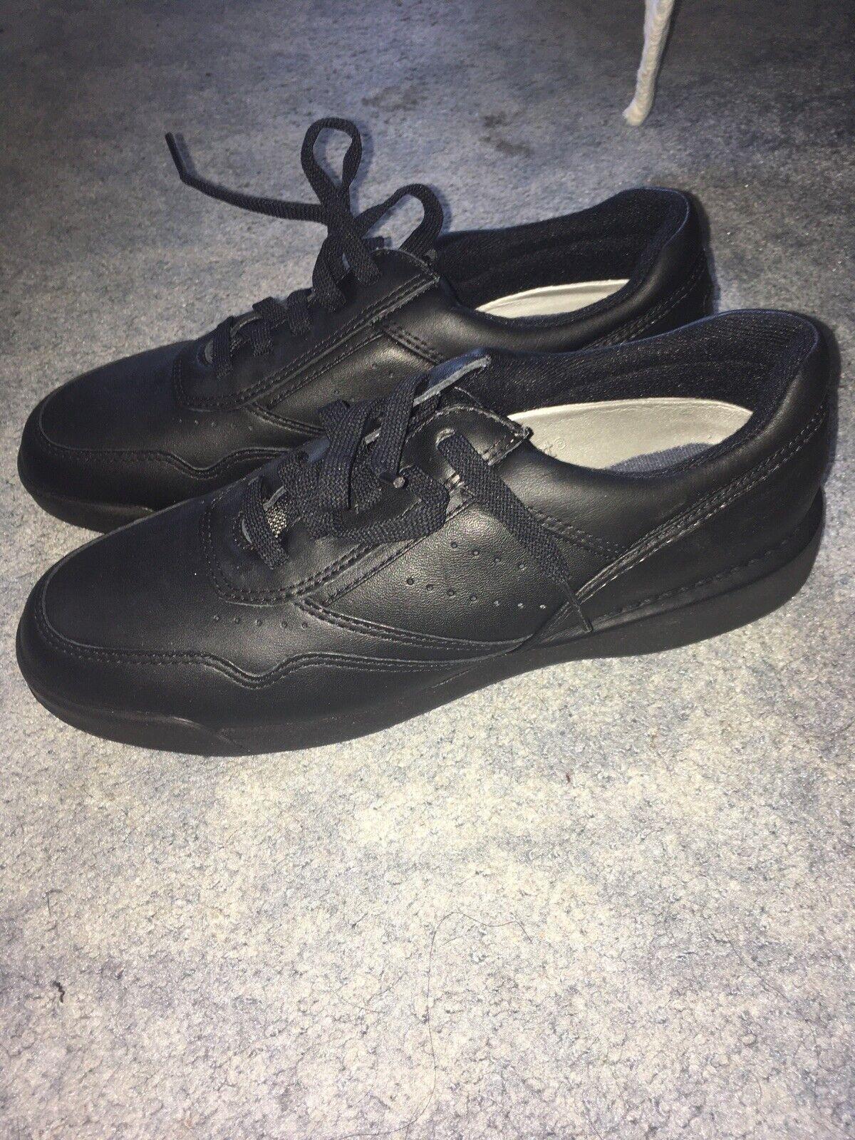 Rockport M7108 ProWalker Black Sneakers