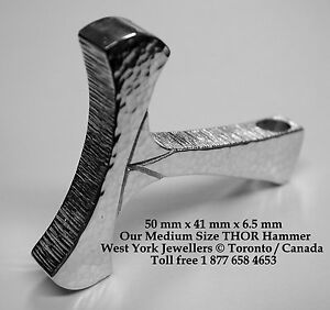 Thors-Hammer-Sterling-Silver-Pendant