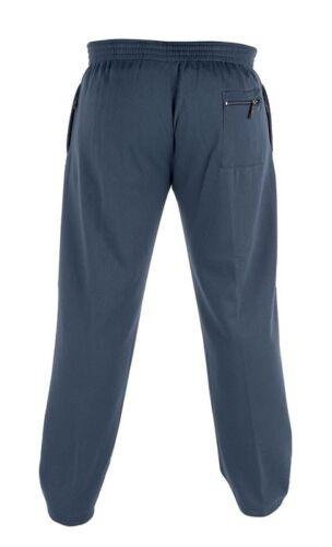 1XL 2XL 3XL 4XL 5XL 6XL D555 Mens Designer Soft Jersey Fabric Jogging Bottoms