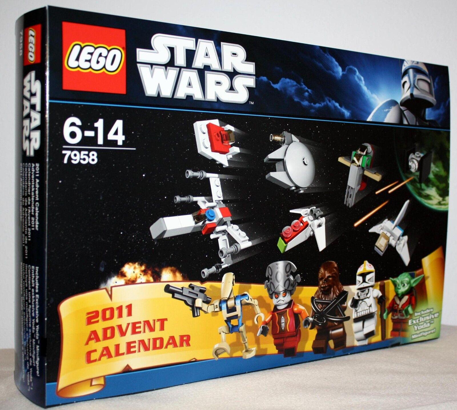 LEGO® 7958 Star Wars Adventskalender 2011 Neu & OVP  | Überlegene Qualität